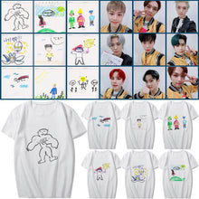 Load image into Gallery viewer, NCT 127 Hand-Painted Cartoon Printed Casual T-shirt
