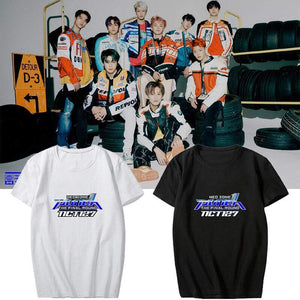 NCT 127 Neo Zone The Final Round Album Printed T-shirt