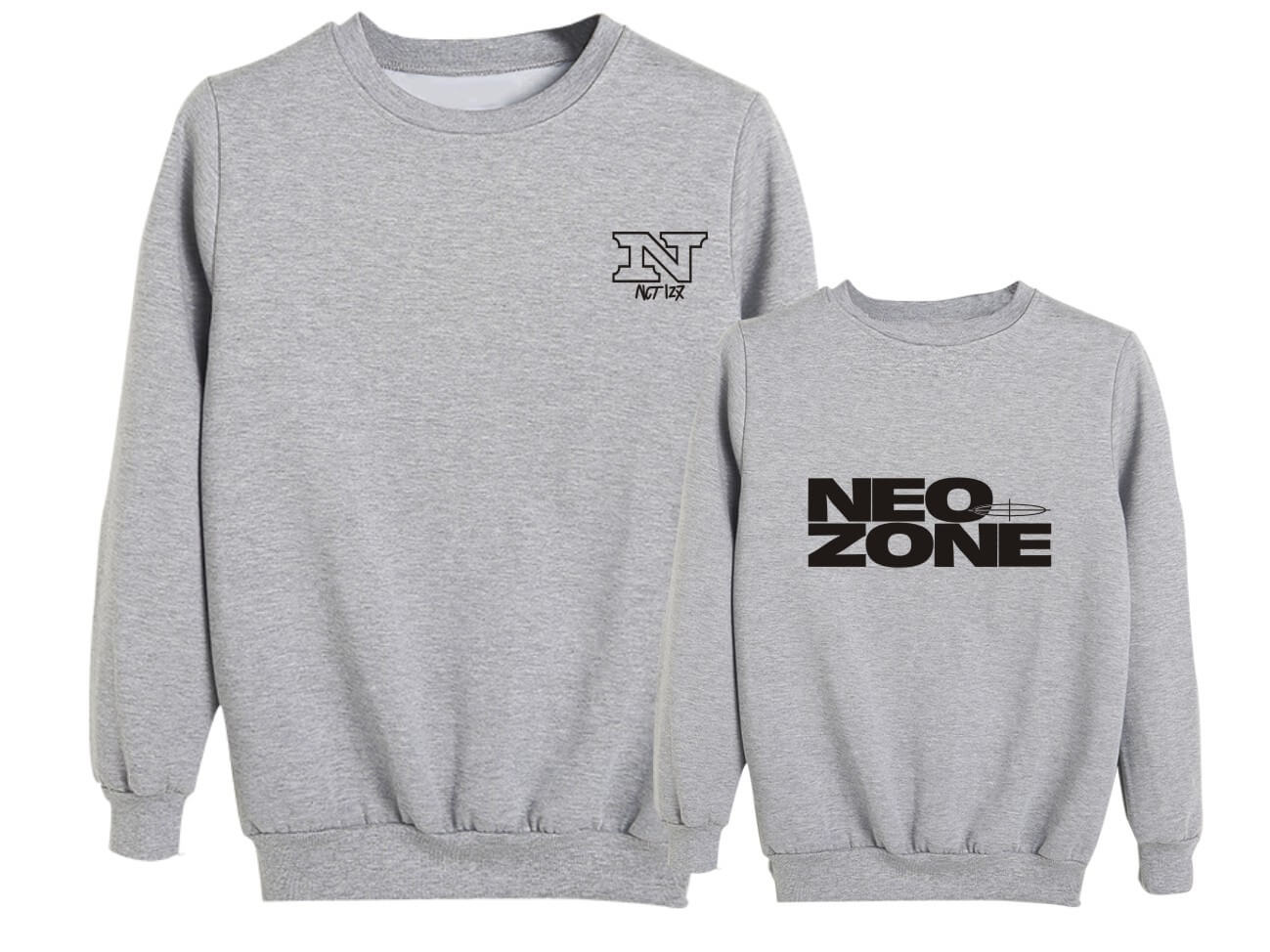 NCT 127 NeoZone Album Printed Cotton Sweatshirt