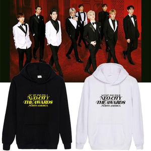NCT 127 North American Tour Printed Cotton Hoodie