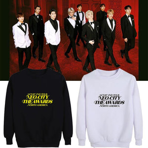NCT 127 North American Tour Printed Cotton Loose Sweatshirt
