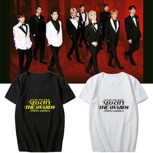 NCT 127 North American Tour Printed T-shirt
