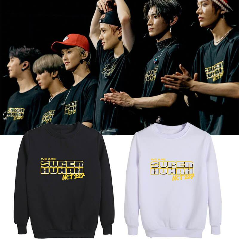 NCT 127 WE ARE SUPERHUMAN Concert Printed Sweatshirt