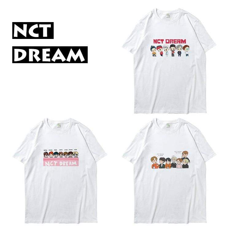 NCT DREAM Cartoon Printed T-shirt