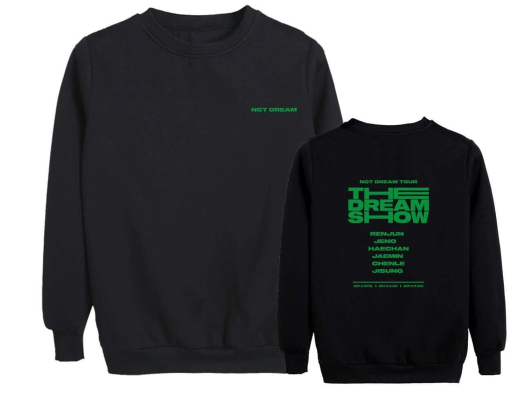 NCT DREAM THE DREAM SHOW Concert Printed Sweatshirt