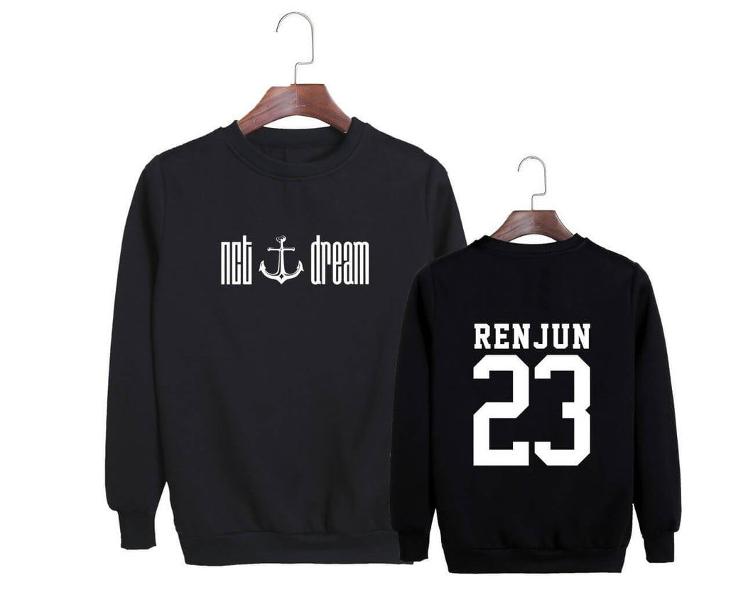 NCT DREAM We Young Album Member Printed Casual Sweatshirt
