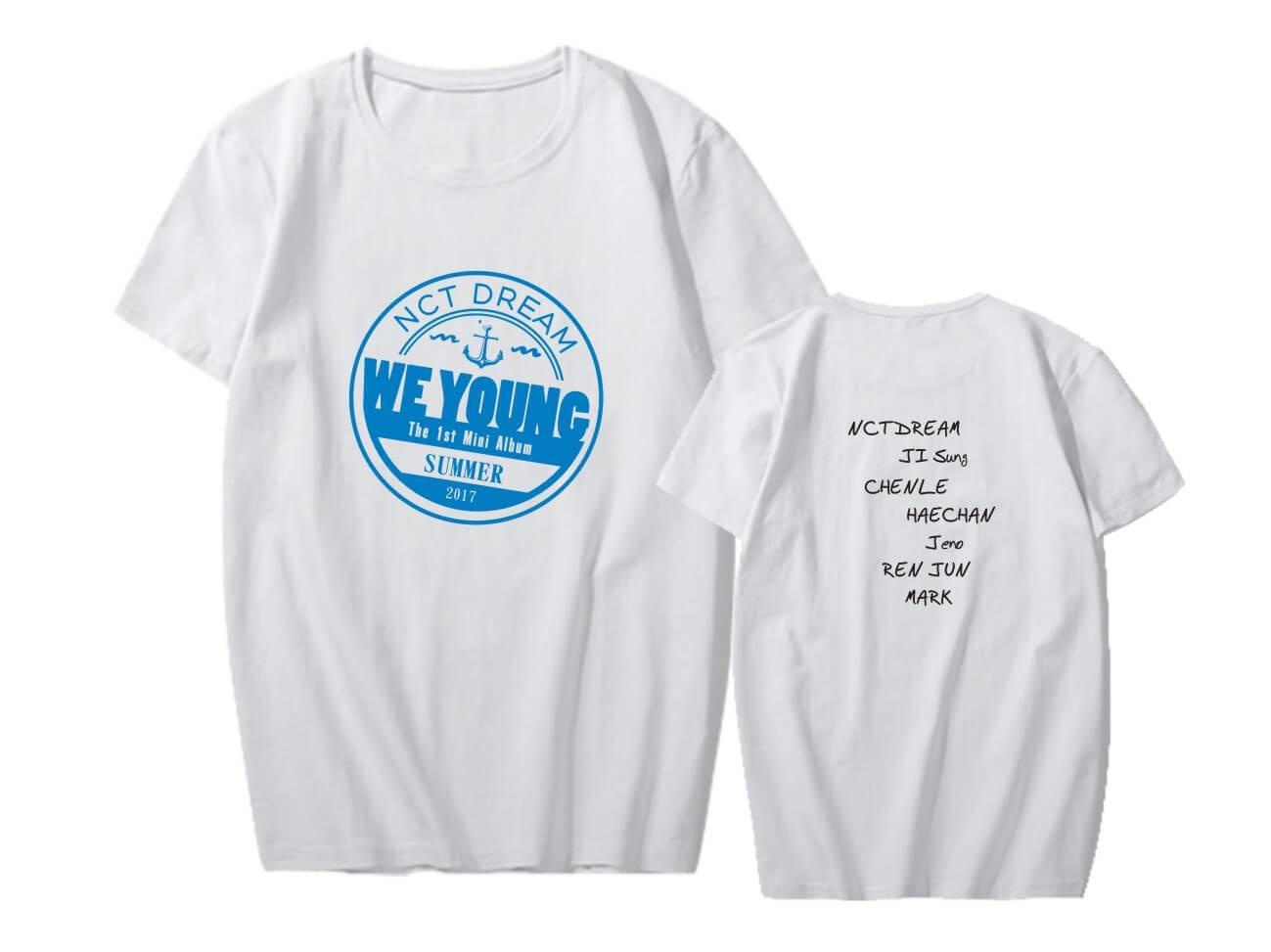 NCT DREAM We Young Album Printed T-shirt