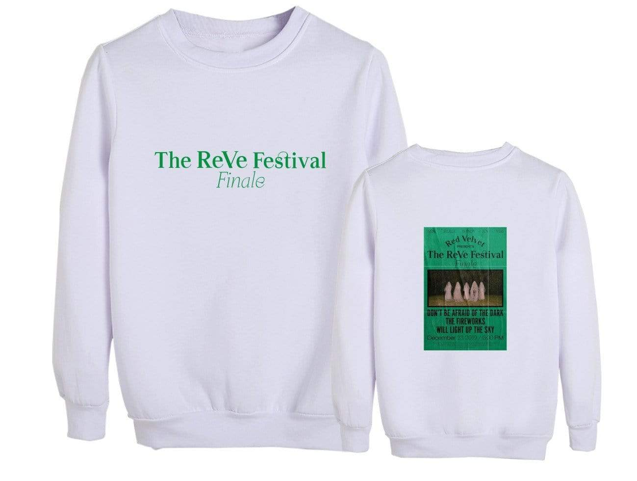 Red Velvet TheReVe Festival Finale Sweatshirt (A款-白色 加绒 S)
