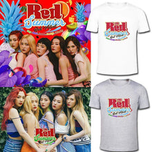 Load image into Gallery viewer, RedVelvet The Red Summer T-shirt (白色 200克T S)
