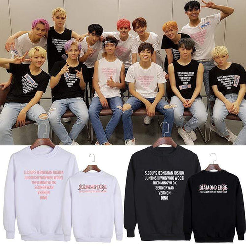 SEVENTEEN DIAMOND EDGE Sweatshirt