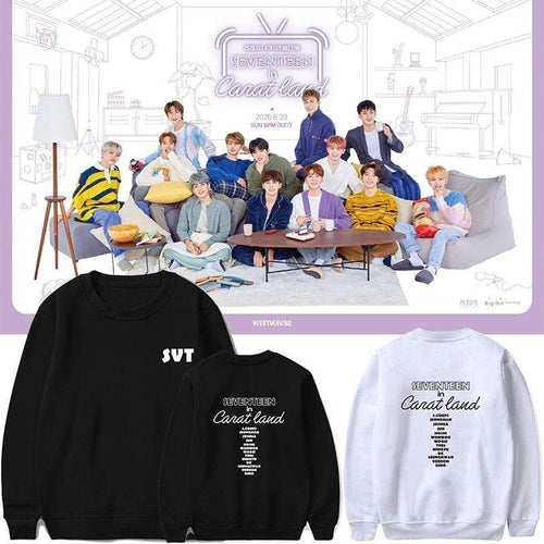SEVENTEEN in CARAT LAND Sweatshirt