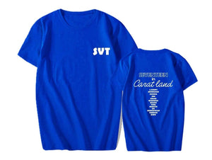 SEVENTEEN in CARAT LAND T-shirt