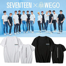 Load image into Gallery viewer, SEVENTEEN Member Printed T-Shirt