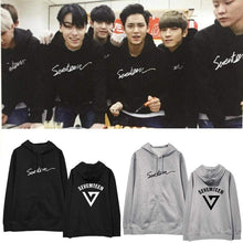 Load image into Gallery viewer, SEVENTEEN Shining Diamond Hoodie
