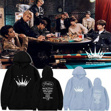 Load image into Gallery viewer, Stray Kids ALL IN Hoodie (纯棉加绒-白色 S)