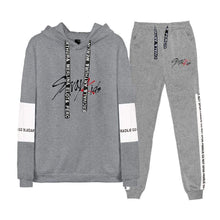 Load image into Gallery viewer, Stray Kids Casual Loose Cotton Hoodie Set