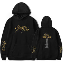 Load image into Gallery viewer, Stray Kids Concert Print Loose Cotton Hoodie