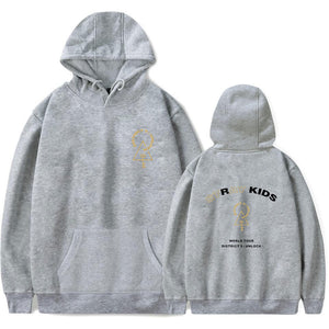 Stray Kids Concert Print Loose Cotton Hoodie