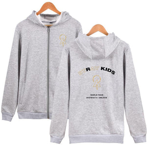 Stray Kids Cotton Casual Zip Hoodie
