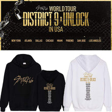 Load image into Gallery viewer, Stray Kids District 9 Unlock Concert Memorial Cotton Hoodie