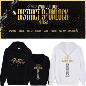 Stray Kids District 9 Unlock Concert Memorial Cotton Hoodie