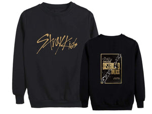 Stray Kids District 9 Unlock Concert Same Cotton Casual Sweatshirt