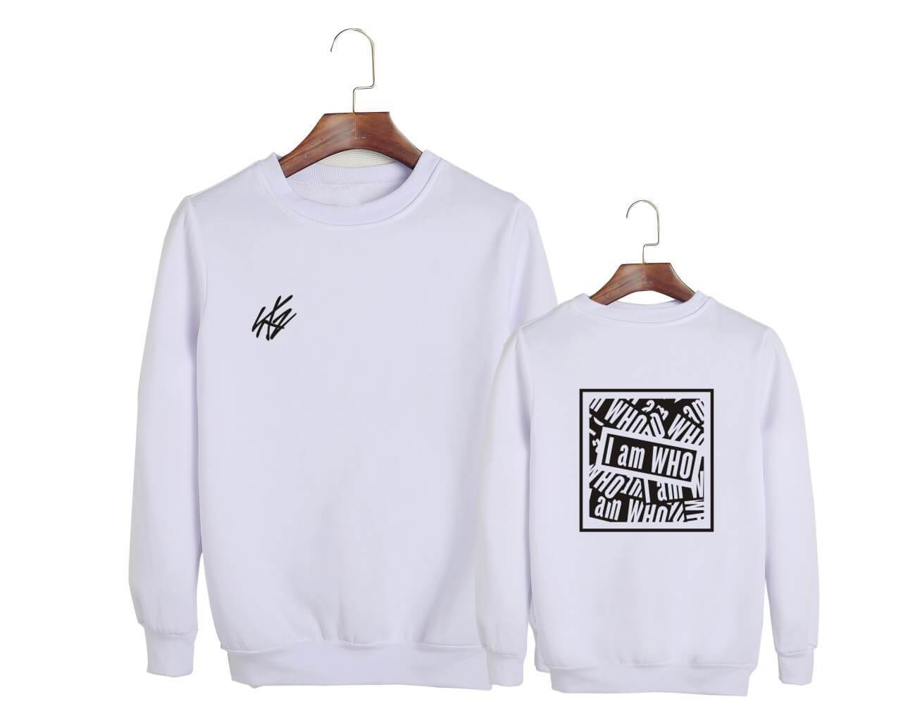 Stray Kids I am WHO Concert Printed Cotton Sweatshirt
