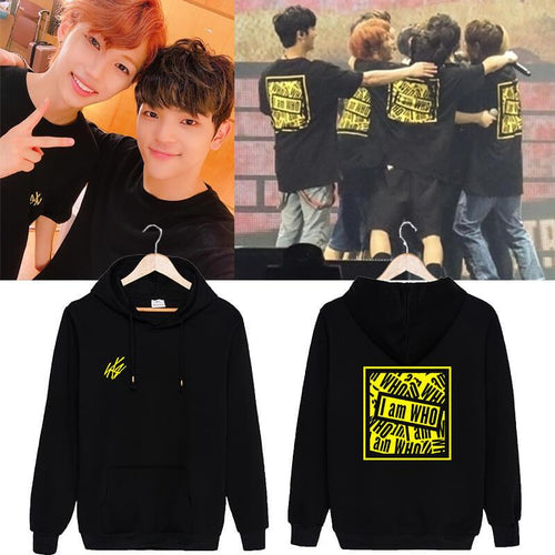 Stray Kids I am WHO Concert Same Casual Hoodie