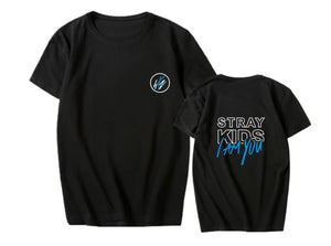 Stray Kids I am YOU Printed Casual T-shirt