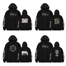 Load image into Gallery viewer, Stray Kids Korean Printed Cotton Casual Hoodie