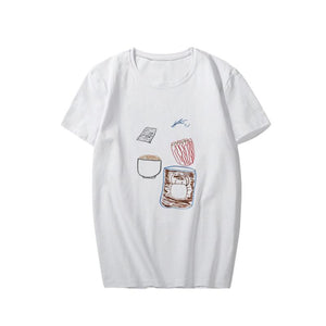 Stray Kids member hand-painted T-shirt