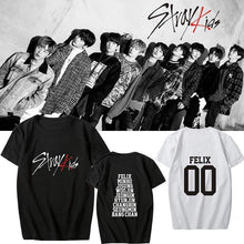 Load image into Gallery viewer, Stray Kids Member Printed T-shirt