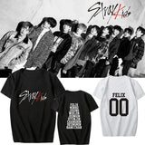 Stray Kids Member Printed T-shirt