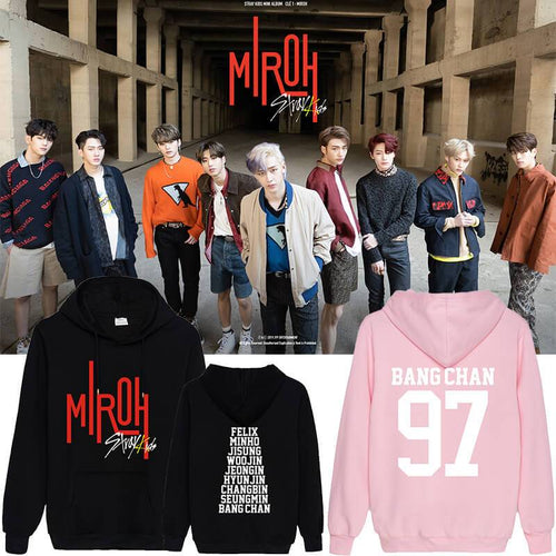 Stray Kids MIROH Album Cotton Casual Hoodie