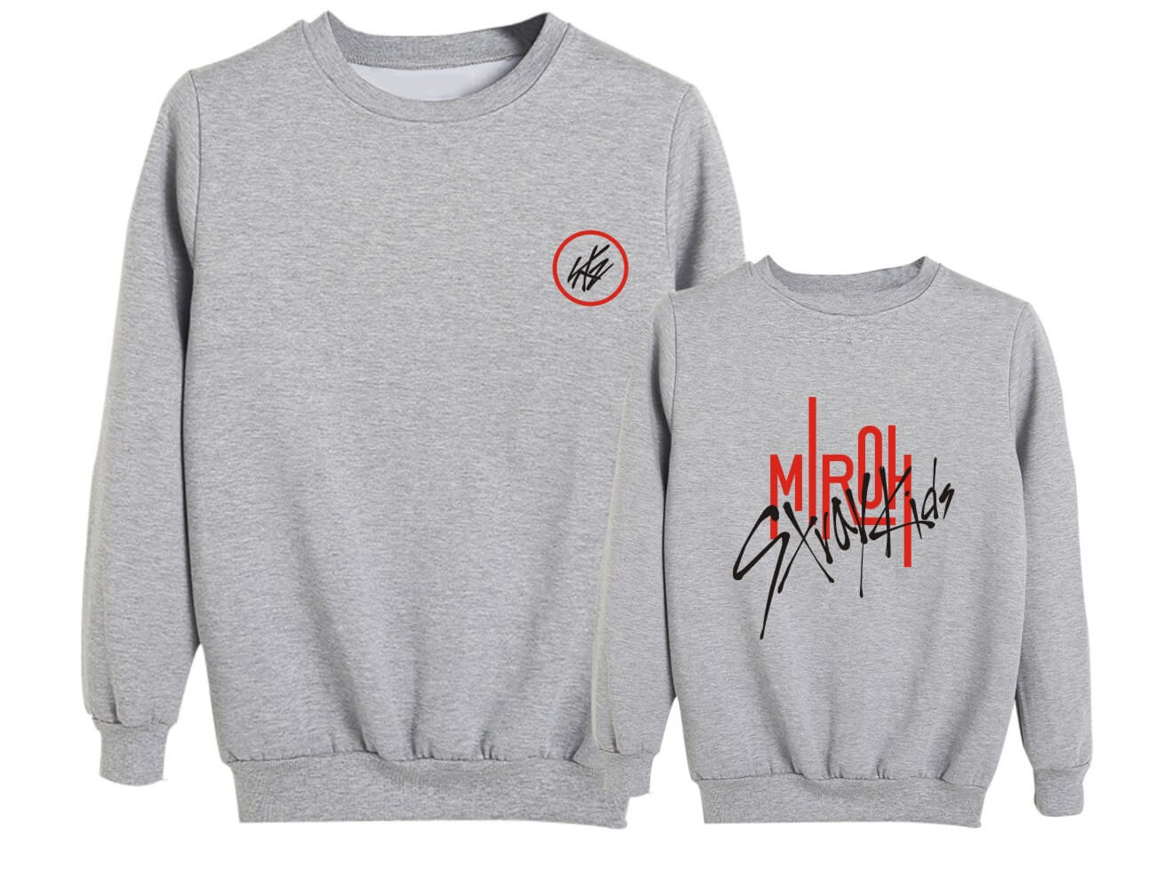 Stray Kids MIROH Album Printed Cotton Sweatshirt