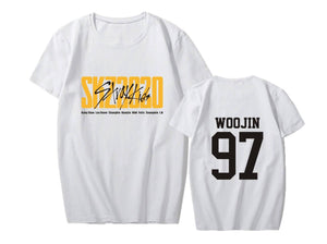 Stray Kids SKZ2020 Album Printed Casual T-shirt