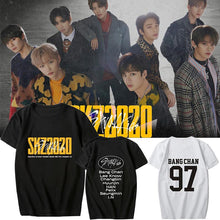 Load image into Gallery viewer, Stray Kids SKZ2020 Album Printed Casual T-shirt