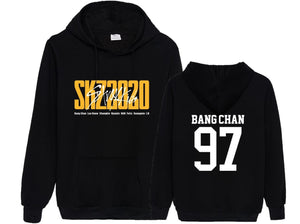 Stray Kids SKZ2020 Album Printed Cotton Casual Hoodie