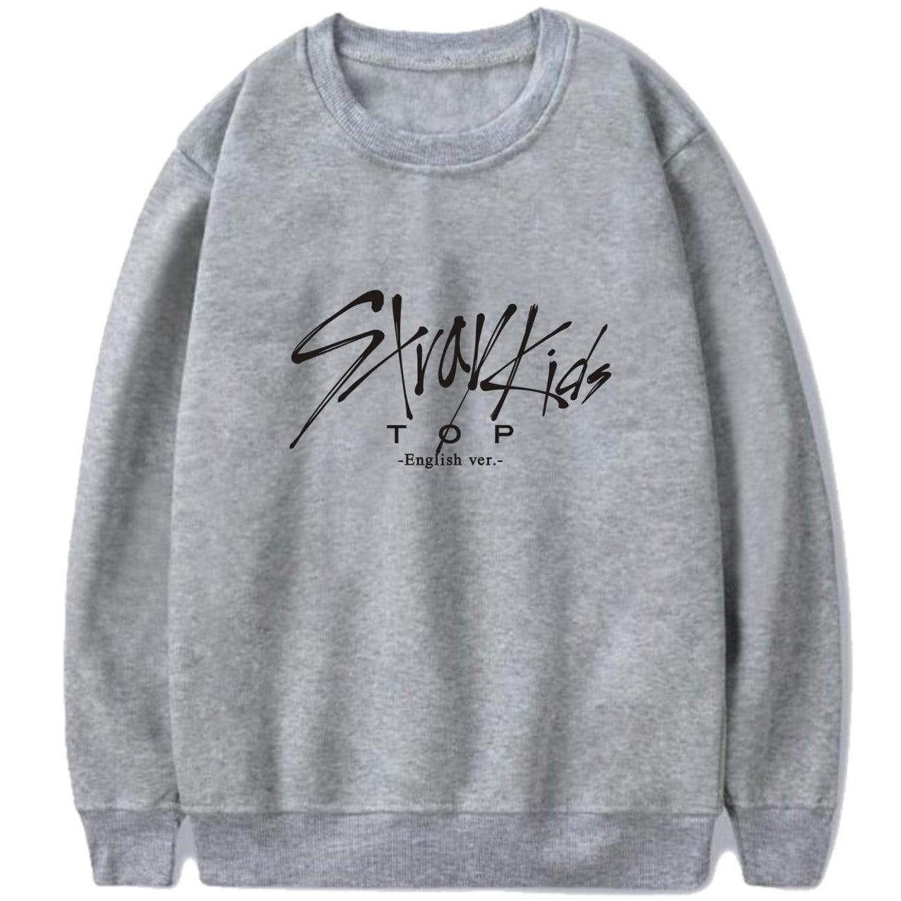 Stray Kids TOP English ver Printed Sweatshirt