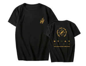 Stray Kids Unlock:GO LIVE IN LIFE T-shirt