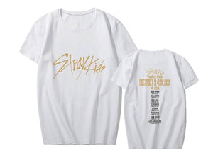 Stray Kids World Tour Concert Printed T-shirt