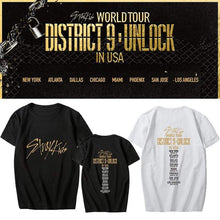 Load image into Gallery viewer, Stray Kids World Tour Concert Printed T-shirt