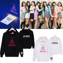 Load image into Gallery viewer, TWICE 2ND TOUR Concert Printed Cotton Casual Hoodie