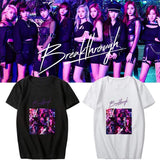 TWICE Breakthrough Album Printed Cotton T-shirt