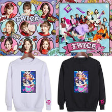 Load image into Gallery viewer, TWICE Candy Pop Cartoon Printed Cotton Sweatshirt