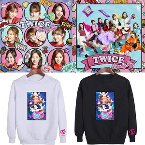 TWICE Candy Pop Cartoon Printed Cotton Sweatshirt