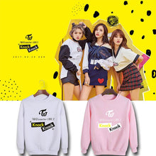 Load image into Gallery viewer, TWICE coaster LANE Album Printed Casual Sweatshirt
