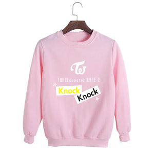 TWICE coaster LANE Album Printed Casual Sweatshirt