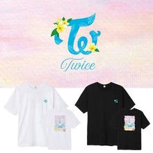 Load image into Gallery viewer, TWICE Concert Printed Cotton T-shirt