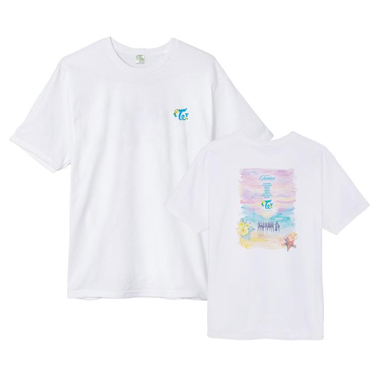 TWICE Concert Printed Cotton T-shirt